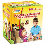 """Роспись по керамике """"Multiart"""", Маша и Медведь"""