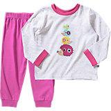 JACKY Baby Schlafanzug für Mädchen Forest Friends