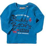 TRICKY TRACKS Baby Langarmshirt für Jungen