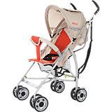 Коляска-трость Baby Care Hola, серый/оранжевый