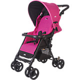 Прогулочная коляска Aire с чехлом на ножки, Joie, ярко-розовый