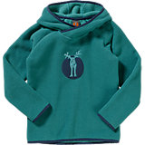 ELKLINE Kinder Fleece Pullover MUGGELICH, grün