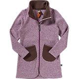 ELKLINE Strickfleece Mantel GLÜHWÜRMCHEN für Mädchen