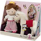 Minilisbeth Set Prinzessin und Pferd  30cm