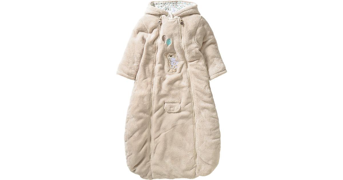 Baby Wagensack Teddy beige Gr. 50/56
