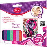 """Картинка из цветного песка """"Сумеречная искорка"""", My little Pony"""