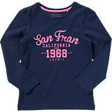 ESPRIT Langarmshirt Essential für Mädchen Organic Cotton