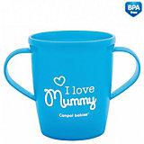 "Чашка ""I love Mummy"", Canpol Babies, синий"