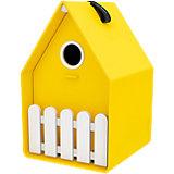 Vogelhäuschen Landhaus, gelb