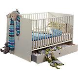 Kinderbett BIBI, 70 x 140 cm, alpinweiß