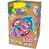 Kreativset Funmais Bigbox Girly, 800 Maisbausteine