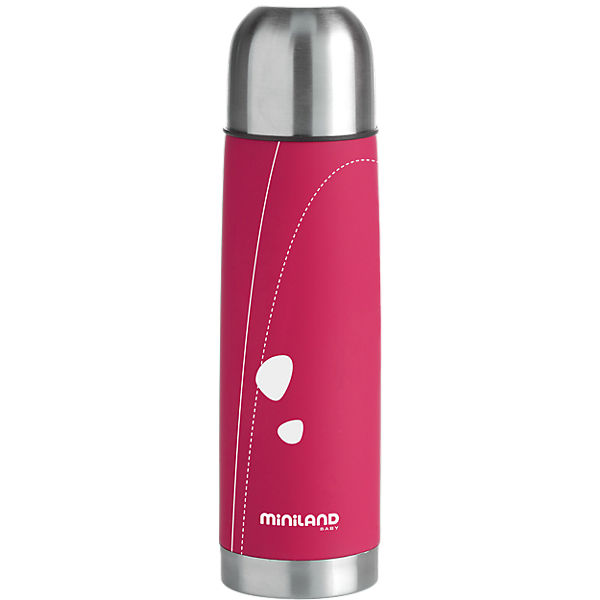 Thermoflasche Soft-Edelstahl, 0,5 l, pink