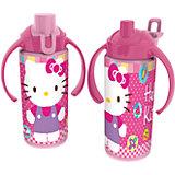 Бутылка спортивная с ручками (360 мл), Hello Kitty