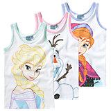 DISNEY DIE EISKÖNIGIN Unterhemden 3er-Pack für Mädchen