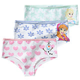 DISNEY DIE EISKÖNIGIN Panty 3er-Pack für Mädchen