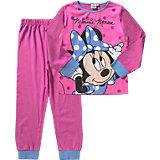 DISNEY MINNIE MOUSE Schlafanzug für Mädchen
