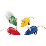 Бегающая мышка, Plan Toys, в ассортименте