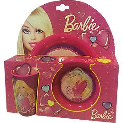 Фиолетовый набор посуды (3 предмета), Barbie