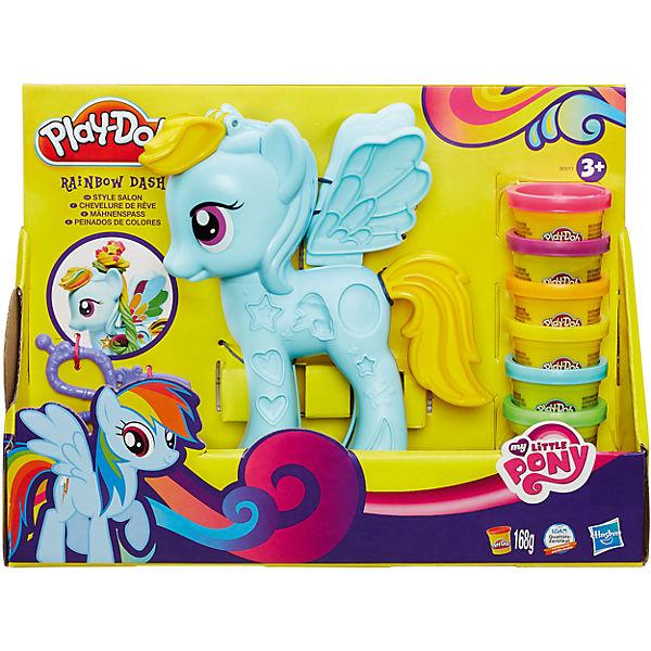 """Игровой набор """"Стильный салон Рэйнбоу Дэш"""", My little Pony, Play-Doh"""