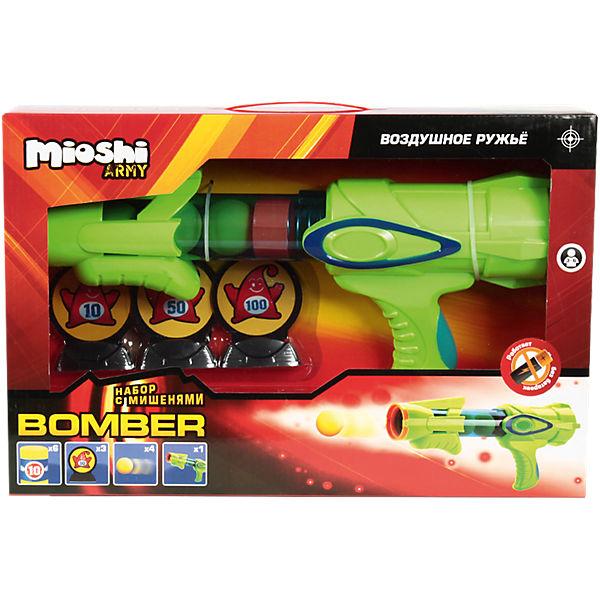 "Воздушный автомат ""Bomber"", с аксессуарами, Mioshi  Army"