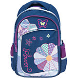 Школьный рюкзак с уплотненной спинкой и светоотражателями
