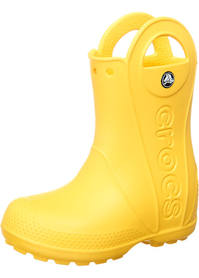crocs handle it rain boot kinder gummistiefel crocs gelb. Black Bedroom Furniture Sets. Home Design Ideas