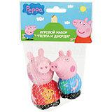 """Игровой набор  """"Пеппа и Джордж"""" 10 см, Свинка Пеппа"""