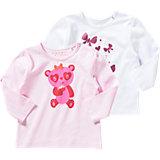ESPRIT Baby Langarmshirt Doppelpack für Mädchen