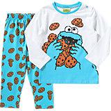 SESAMSTRASSE Kinder Schlafanzug