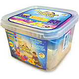 Космический песок классический, 2 кг, набор с песочницей и формочками