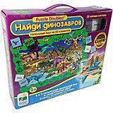 """Пазл и игра """"Найди динозавров"""", 2в1,  Learning Journey"""