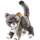 Kitty Katze 25 grau/beige stehend