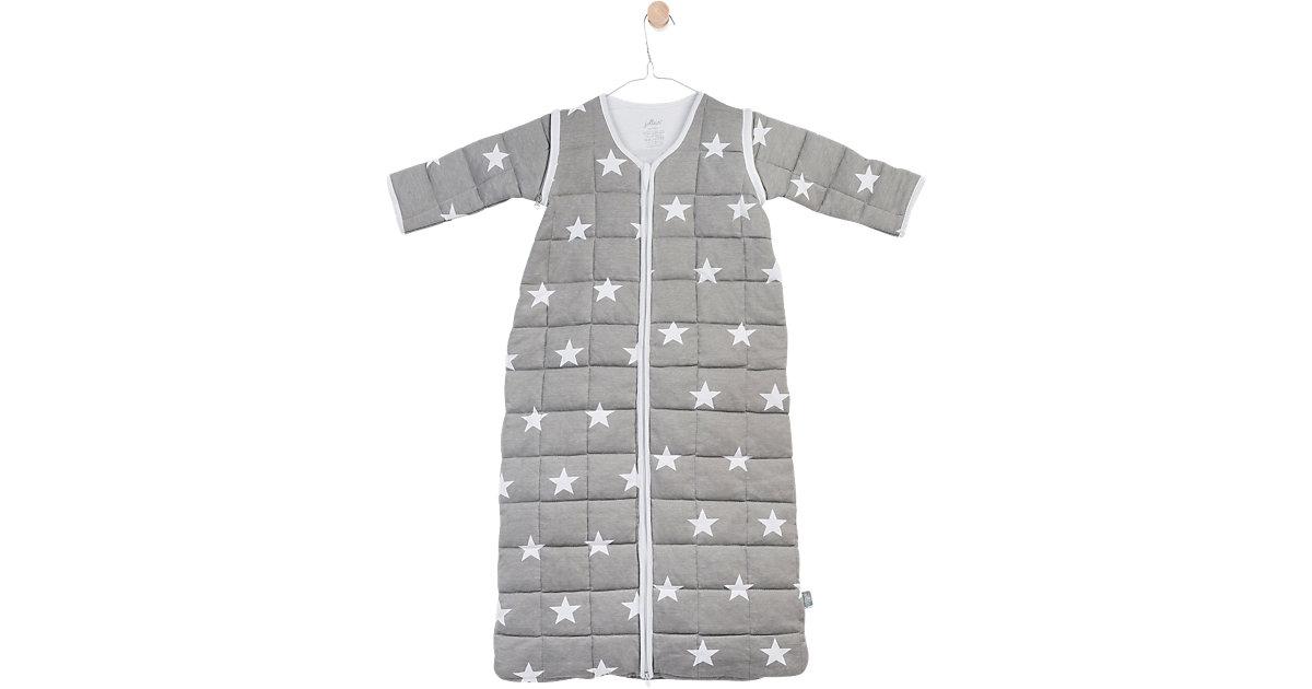 Schlafsack gesteppt, Little Star, grau Gr. 110