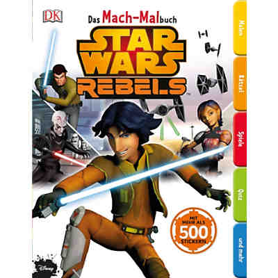 Das Mach-Malbuch: Star Wars Rebels