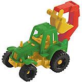 """Трактор """"Ижора"""" с ковшом, Нордпласт, в ассортименте"""