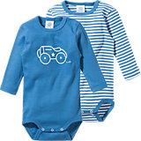 SANETTA Baby Body Doppelpack für Jungen Auto