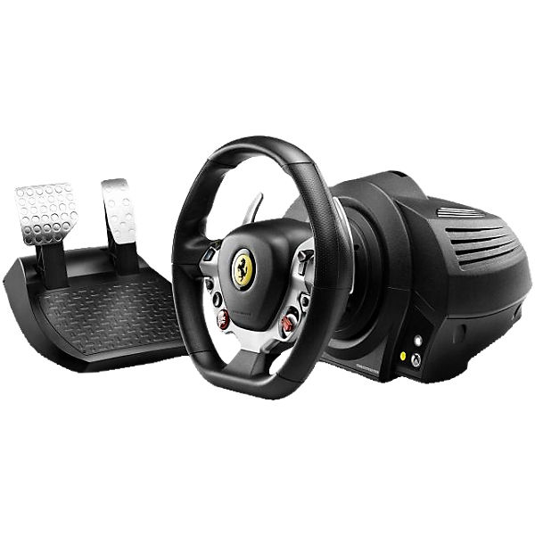 XBOX ONE Lenkrad Ferrari TX Racing Wheel 458 Italia Edition (PC kompatibel)