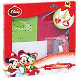 Kreativset Weihnachtsbaumschmuck aus Filz Disney