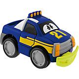 Машинка Turbo Touch Crash, голубая, Chicco