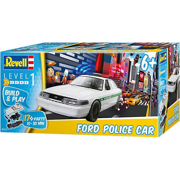 """Полицейская машина Ford """"Собери и играй"""""""