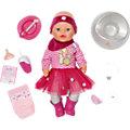 BABY born Interactive Puppe im Geschenke - Set Gingerbread Girl, 43 cm