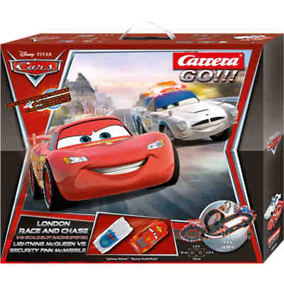 CARRERA GO!!! 62277 Disney Cars London Race an Chase