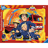 Rahmenpuzzle Sam, der Feuerwehrmann 33 Teile