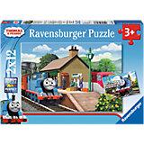 Puzzle Thomas die Lokomotive 2 x 12 Teile