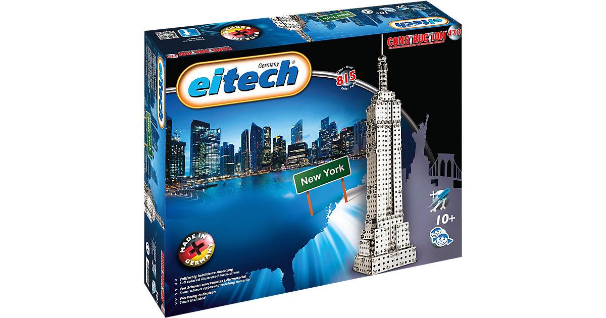 470 KLASSIKER Metallbaukasten - New York Skyscraper Empire State Building