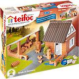 teifoc TEI4600 Steinbaukasten - Bauernhof