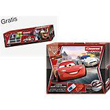 CARRERA GO!!! 62277 Disney Cars London Race an Chase + GRATIS Ausbauset Disney Cars 2 inkl. 1 x Hook im Wert von €39,99