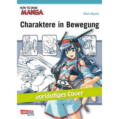 How To Draw Manga: Manga-Charaktere in Bewegung