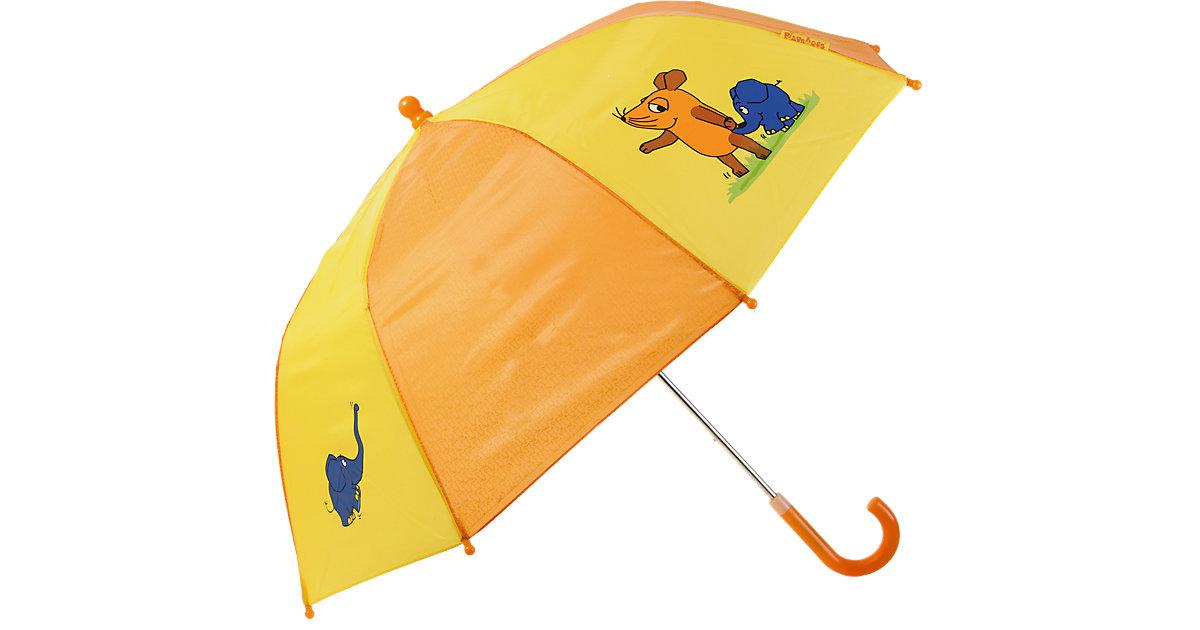 Kinder Regenschirm Maus blau