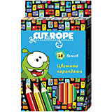"Цветные карандаши ""Cut the Rope"" 18 цветов"